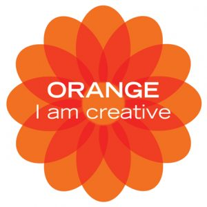 orange color therapy