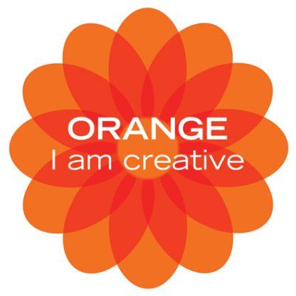orange color therapy