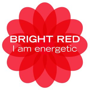 bright red energy